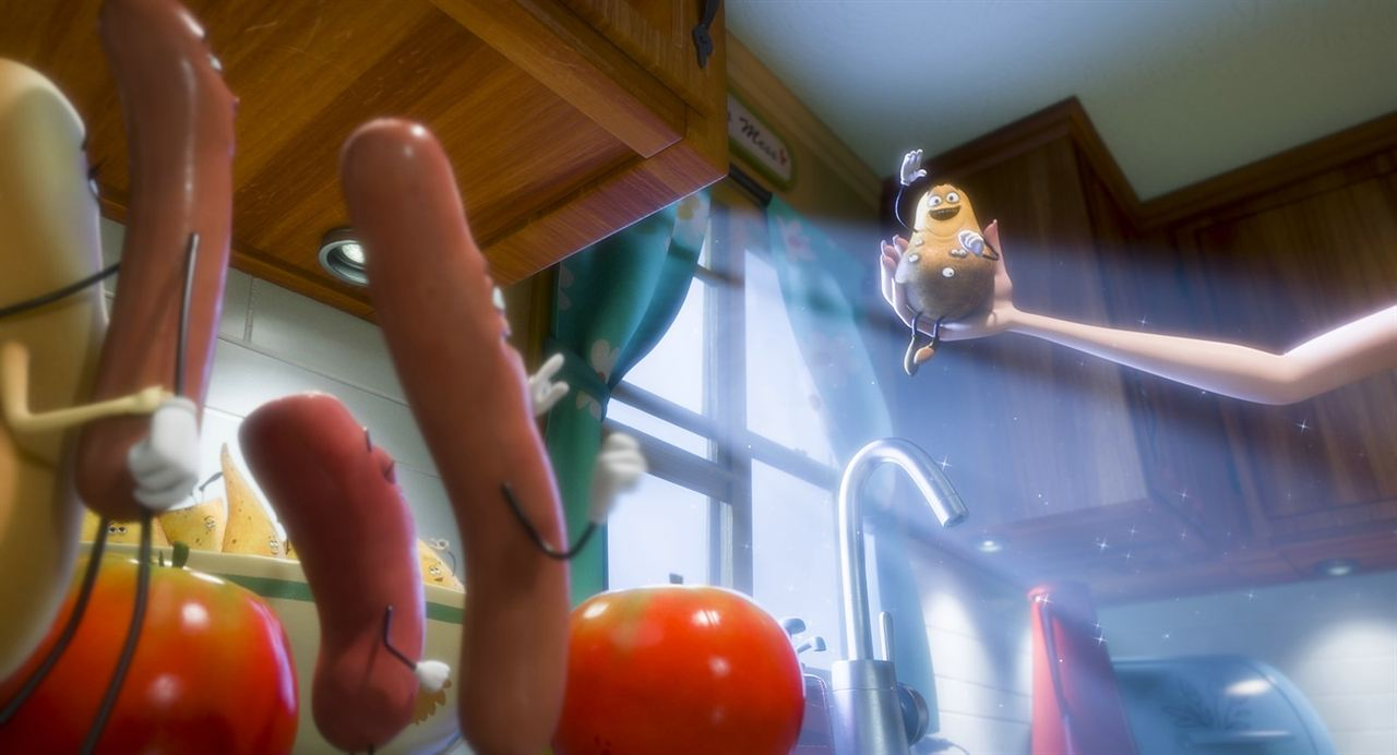 Cinematogrill sausage party seth rogen