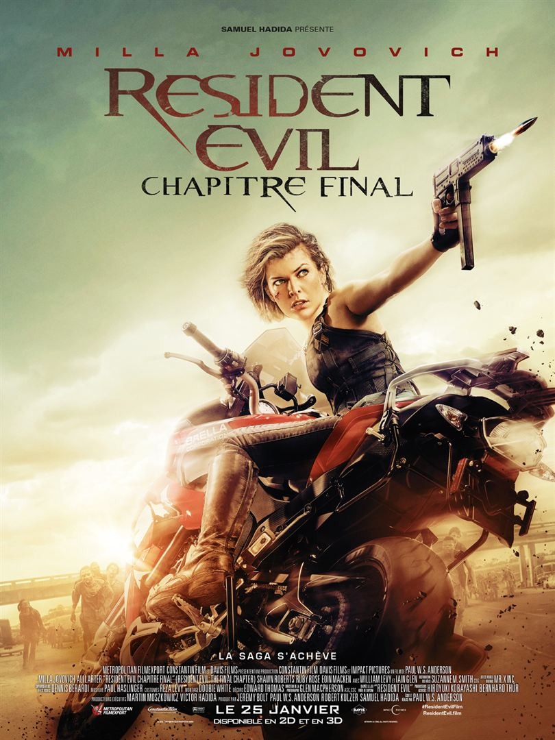 Resident evil final chapter cinematogrill